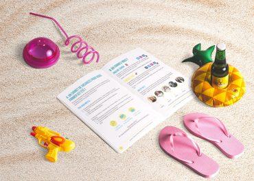 Se former sur les réseaux sociaux pendant l'été : découvrez nos carnets de vacances pour apprendre efficacement !